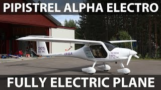 Pipistrel Alpha Electro fully electric airplane