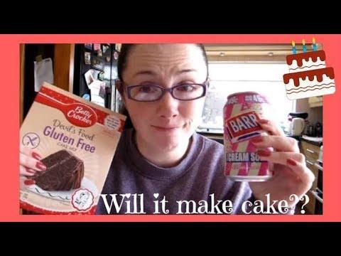 TESTiNG THE BETTY CROKER AND SODA CAKE HACK VEGAN & GLUTEN FREE