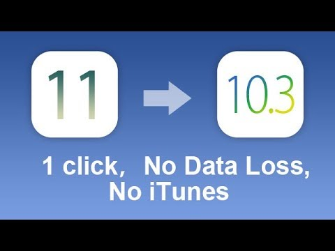 How to Downgrade iOS 11 OTA for iPhone 7/7 Plus/6/5S/5 without iTunes?