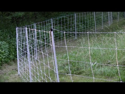 Electric Movable Fencing for Sheep, Goats and Cows