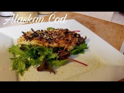 Parmesan Crusted Alaskan Cod (Breaking Ground Video)