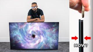 "NEW LG 4K OLED TV 65"" UNBOXING"