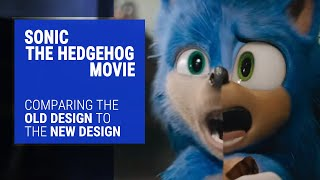 Sonic The Hedgehog Movie Trailer Comparison - Old vs. New