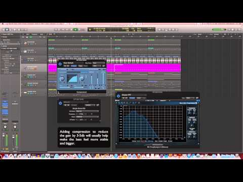 How to make a trance bassline in Logic Pro X: Off beat sub bass - Trance Production Tutorials #04