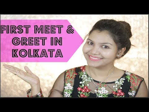 1st time Meet and Greet in Kolkata / INDIANGIRLCHANNEL TRISHA