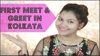 1st time Meet and Greet in Kolkata / INDIANGIRLCHANNEL TRISHA