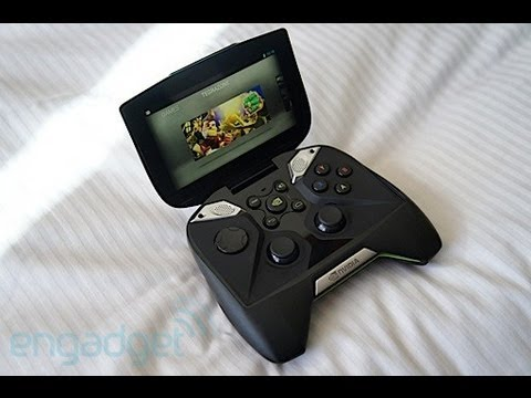 NVIDIA Project Shield hands-on | Engadget at CES 2013