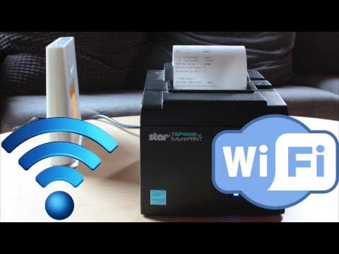 Setting Up & Pairing the Star TSP100 LAN for the iPad | Vend U