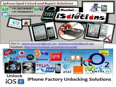 Iphone 4 4s 5 5s 5c Vodafone Orange O2 3 Hutchison UK in Goa India -- +919833098597
