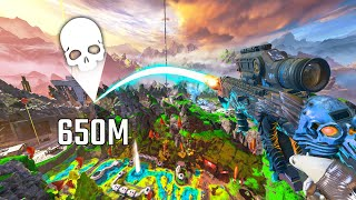 650m WORLD RECORD SHOT!! - Best Apex Legends Funny Moments and Gameplay - Ep. 582