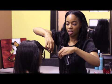 Shoulder Length Haircuts With Bangs & Layers : Bangs & Styling Hair