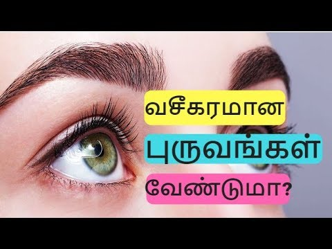 How to grow thick and attractive eyebrows fastly and naturally | Tamil Beauty tips