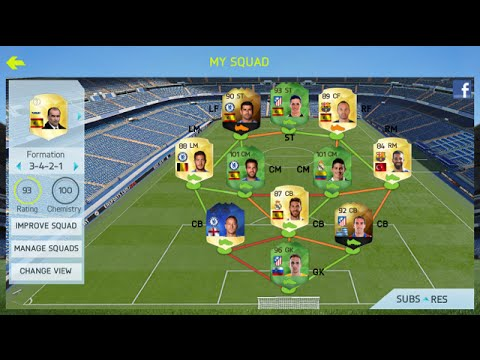 THE MOST OVERPOWERED TEAM ON FIFA 15 IOS w/ 101 RATED PLAYERS!