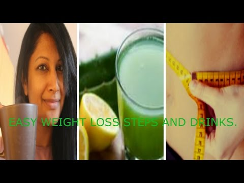 TOP 4 EARLY MORNING DRINKS TO BURN FAT. IT'S FAB & IT WORKS!!