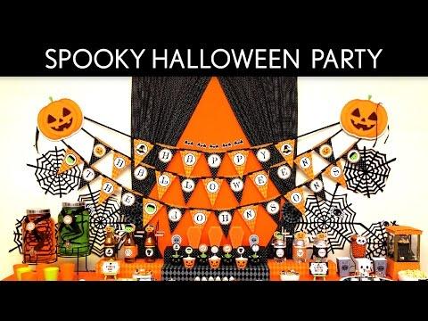Spooky Halloween Holiday Party Ideas // Spooky Halloween - H5