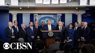 Watch live: Donald Trump and Coronavirus Task Force hold briefing at the White House