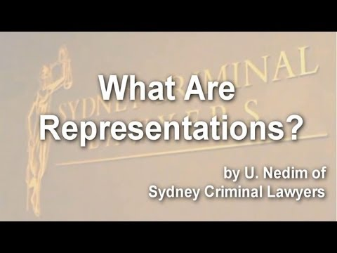 What are representations?