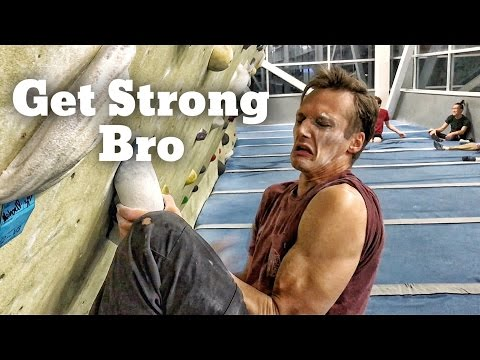 How to be a Strong Gym Climber