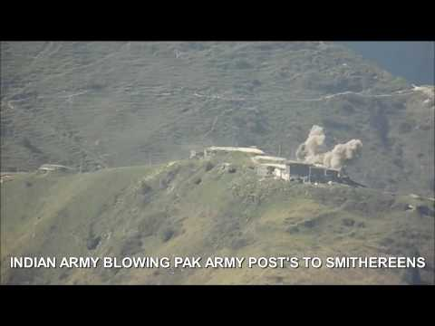 Indian Army massive Assault on Pakistan Rangers Part 1