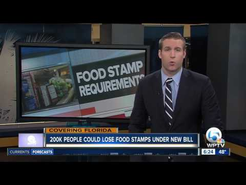Florida could cut off food stamps to more than 200,000