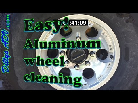 EASY! ALUMINUM WHEEL CLEANING