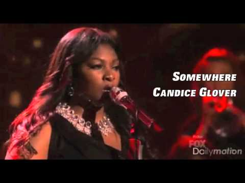 Somewhere - Candice Glover (Live Audio)
