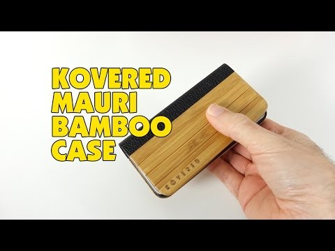 Kovered Mauri Bamboo Case Review for iPhone 5s & iPhone 5 @KOVEREDUK