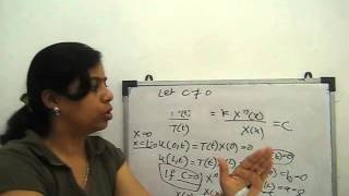 Linear partial differential equation of first order - PakVim