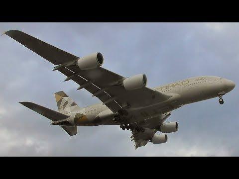 Plane Spotting at London Heathrow Airport   20th February 2018