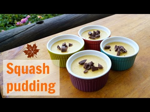 Easy and healthy squash dessert / paleo high fat