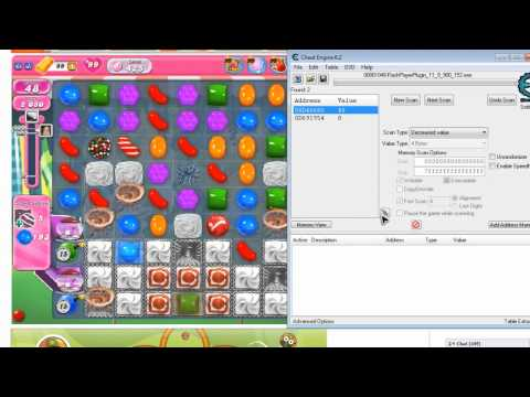 Candy Crush Cheat Engine 6.3