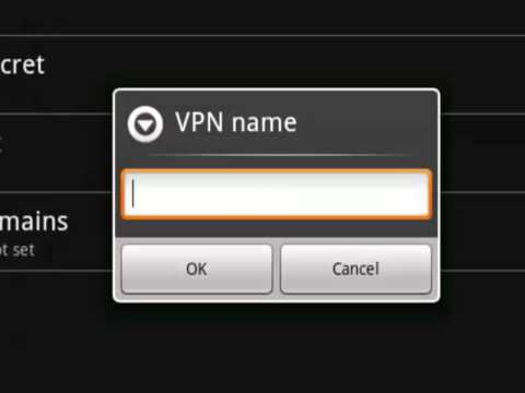How to setup VPN on Android - L2TP