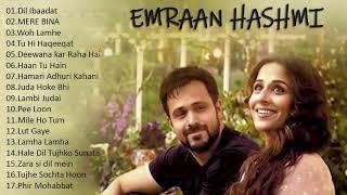 BEST OF EMRAAN HASHMI SONGS 2021 Hindi Bollywood Romantic Songs Emraan Hashmi Best Songs Jukebox