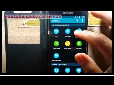Samsung Galaxy S5 : How to Find Your WiFi IP Address (Android Phone)