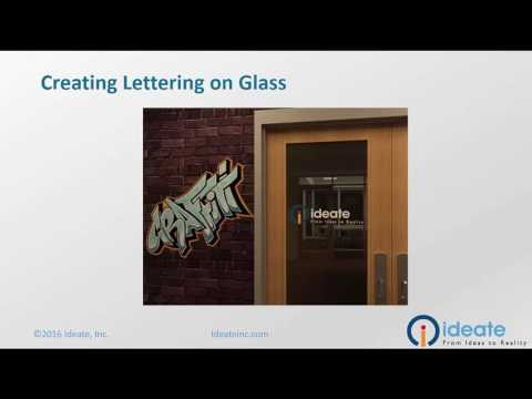 Creating lettering on Glass (Decals Part Two)