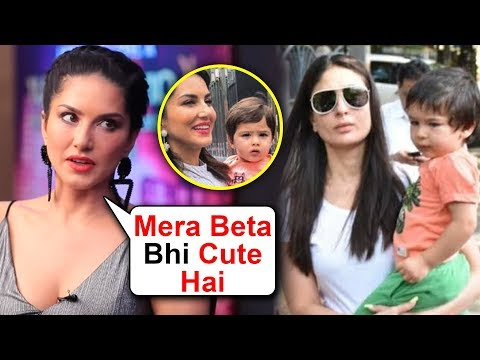Xxx Mp4 Sunny Leone ANGRY REACTION On Her Son Being Compared To Taimur Ali Khan 3gp Sex