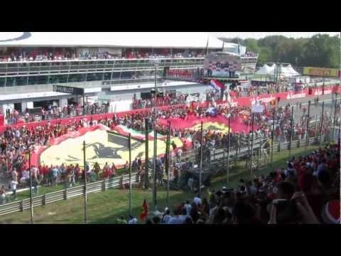 F1 Monza 2012 - Tifosi Ferrari Flag