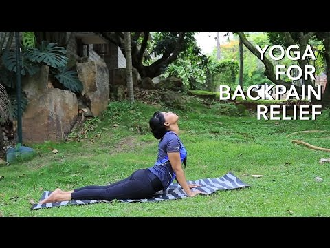 Yoga for Back Pain Relief - Stretching and Strengthening Back Muscles and Spine