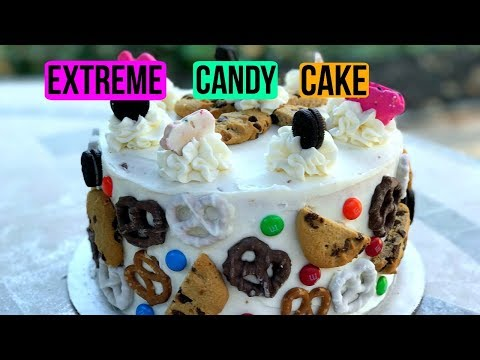 How To Make an EXTREME Candy Cake | Episode 38 Baking With Ryan