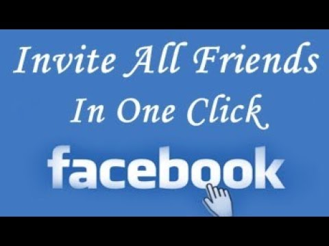 How to - Invite All Friends to Like Facebook Page in One Click 2017 || by video world
