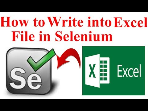 How to write into excel file in Selenium using Apache POI | Interview Question