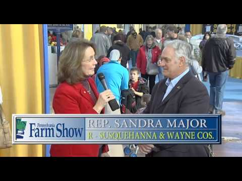 Meeting Up with Secretary Greig during the 2015 PA Farm Show