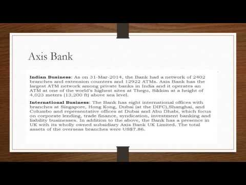 IFSC Code of Axis Bank