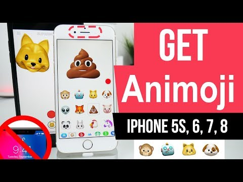 Get Animoji on iPhone, iPad & iPod IOS 11 No Jailbreak No Computer Alternative app