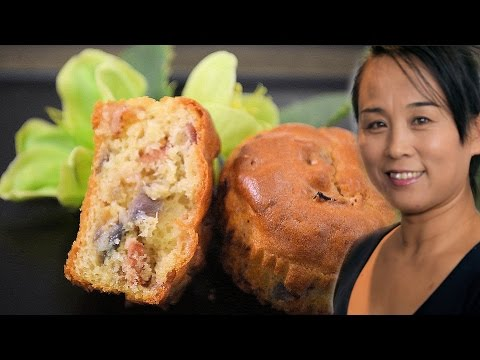 Bacon & Onion Muffin Recipe (Chinese Style Cooking Recipe)