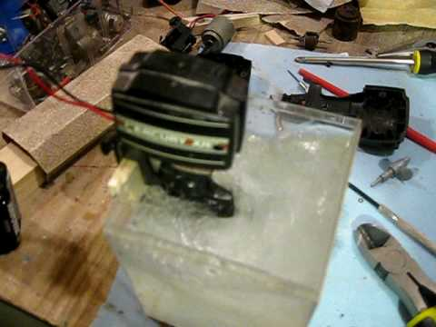 Nylint Mercury XR4 Toy Outboard Motor - Modified