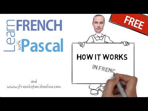 How to say: how it works in French