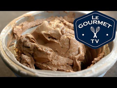 Dbl Chocolate Chunk Frozen Yogurt Recipe - LeGourmetTV