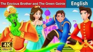 Envious Brother and Green Genie Story in English | Bedtime Stories | English Fairy Tales
