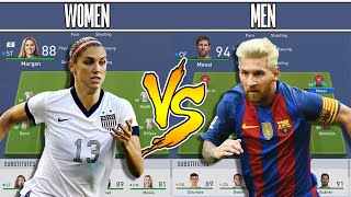 Download BEST WOMEN XI VS BEST MEN XI - FIFA 19 Experiment - DISGUSTING FORFEIT Video